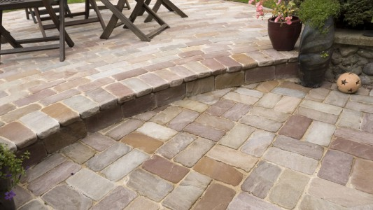 Natural Stone Sett Paving