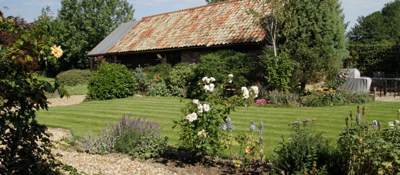 Traditional borders garden landscaping